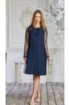 Плаття 628-01 синє