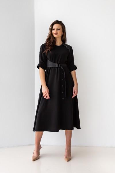 Красива сукня 165-01 чорна