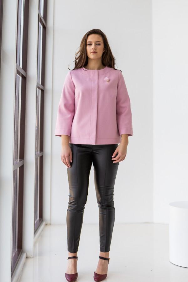 Кардиган 21-05 ніжно рожевий