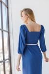 Плаття 238-01 синє