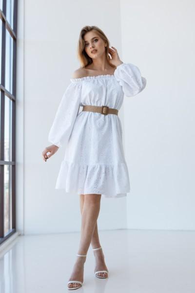 Платье 242-01 белое