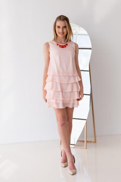 Платье 304-03 розовое