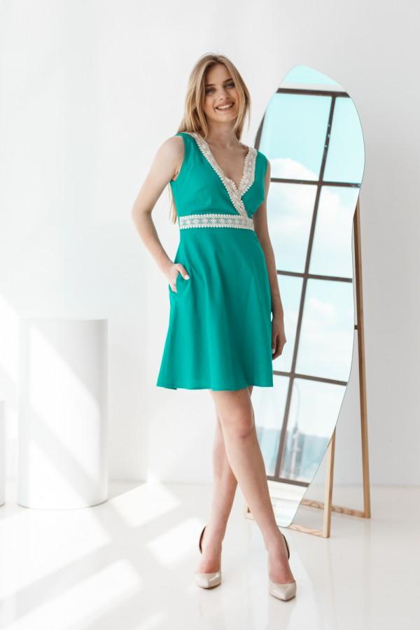 Плаття 416-01 зелене