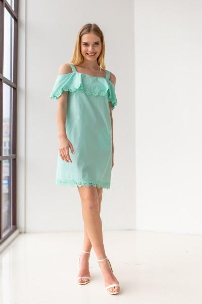 Платье 427-01 мятное