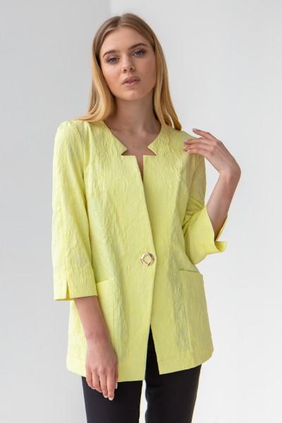 Кардиган 46-01 лимонний