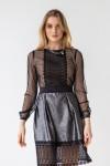 Платье 534-01 черное
