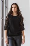 Блуза 579-03 чорна