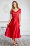 Плаття на випускний 589-02 червона