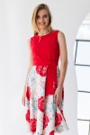 Плаття 592-02 червоне
