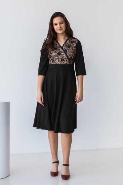 Плаття 608-01 чорне
