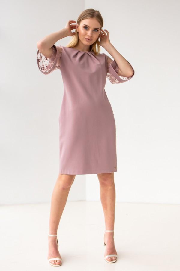 Плаття 617-02 рожеве