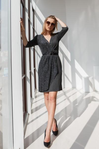Платье 631-01 черное