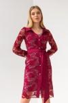 Платье 632-01 марсал