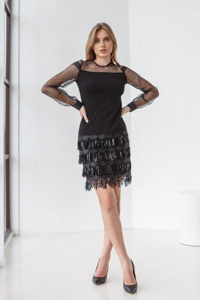 Плаття 650-01 чорне