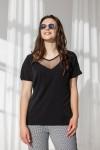 Блуза 670-01 чорна