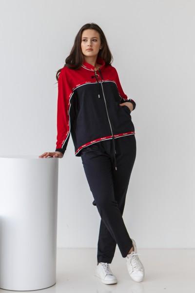 Спортивний костюм 687-04 червоний